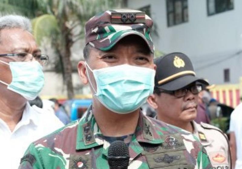 Dandim Ingatkan Tim Satgas TMMD Jaga Kesehatan Ditengah Pandemi Corona