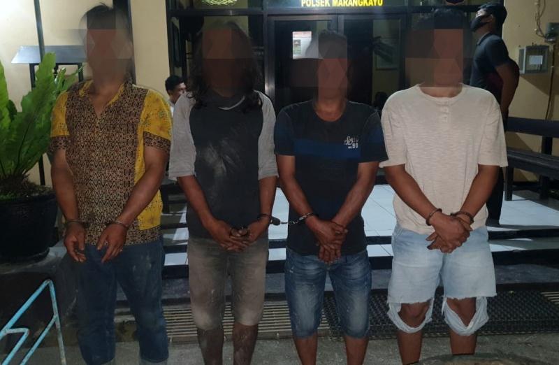 Curi Belt Conveyor Tambang, 4 Warga Muara Badak Ditangkap Polisi